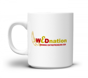 Winning Entrepreneurs Den Branded Mug